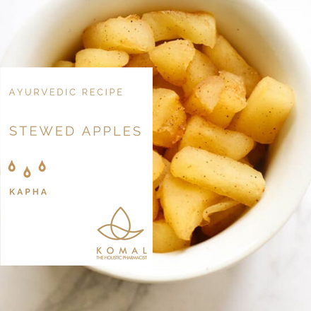 Holistic Recipes - Kapha Stewed Apples