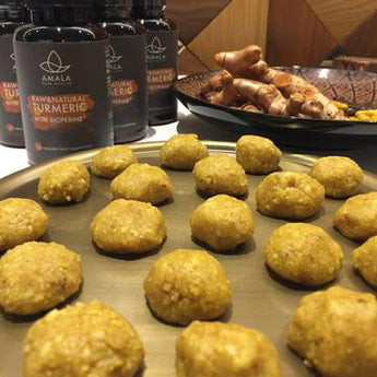 Ayurvedic Recipes - Turmeric Chai Energy Balls