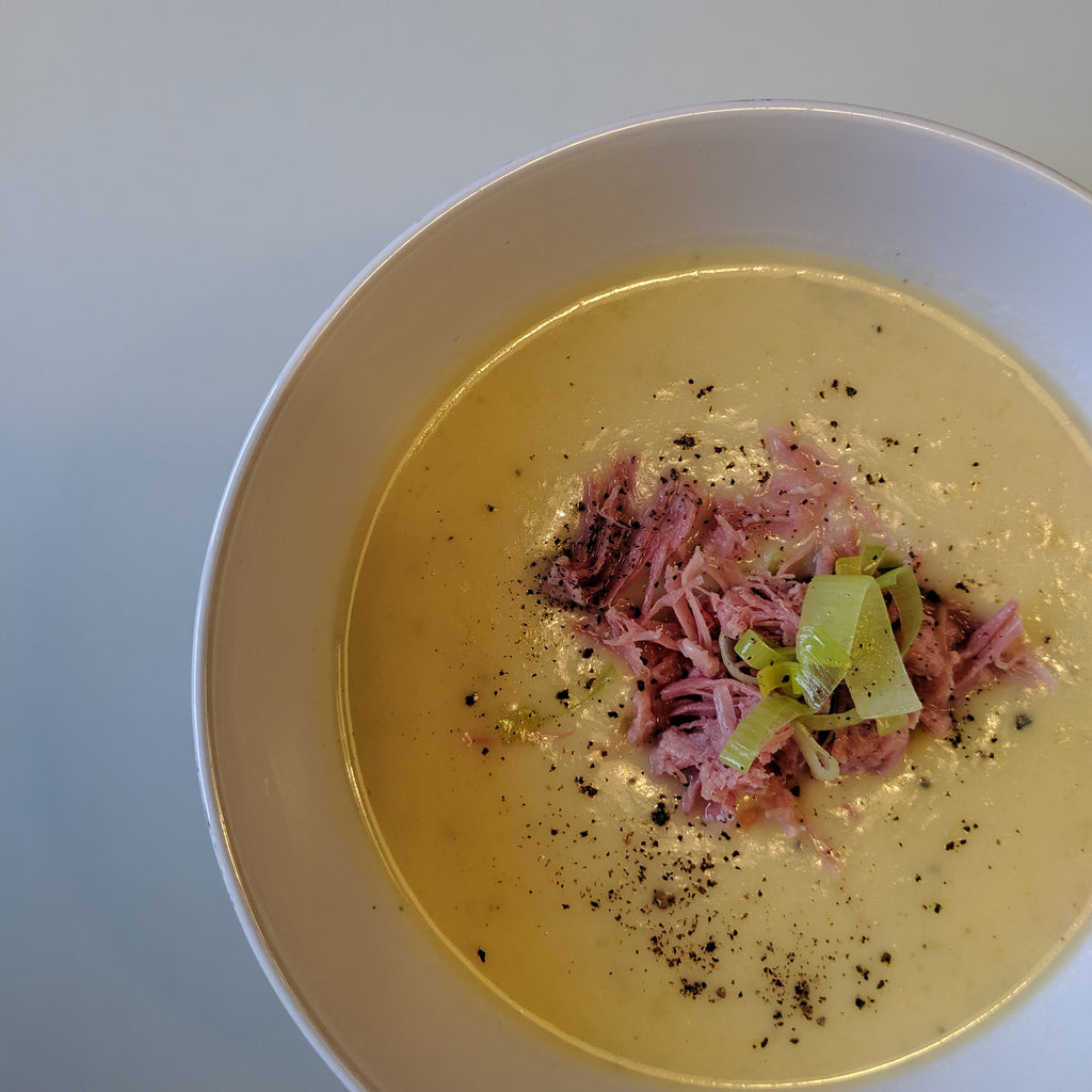 Leek & Potato Soup - Autumnal Warmers