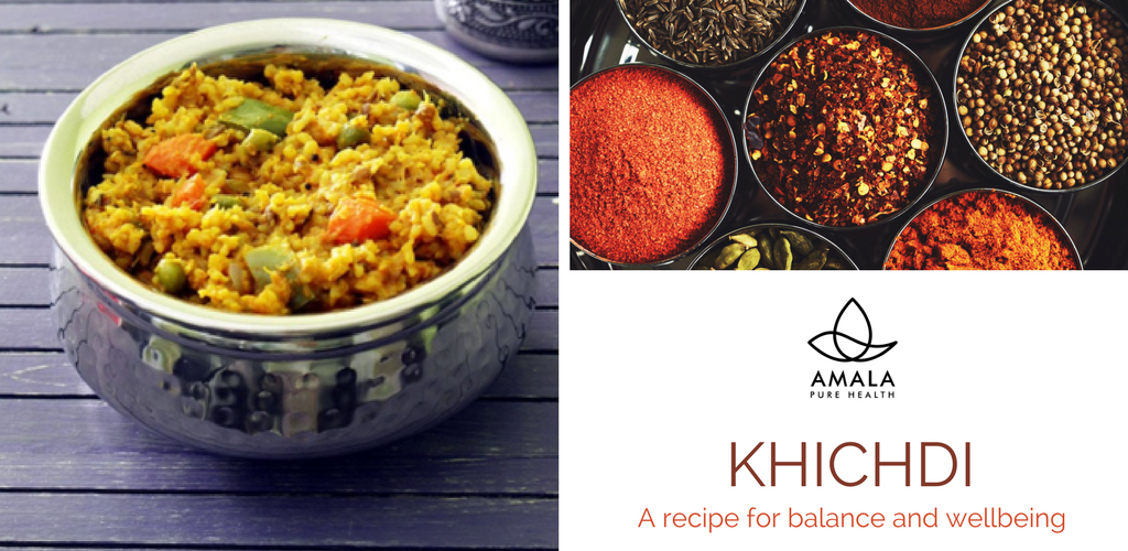 Ayurvedic recipes khichdi for balance and wellbeing amala pure we are seeing ayurveda mentioned more and more in the press at the moment and many of us are now incorporating key ayurveda principles into our day to day forumfinder Gallery