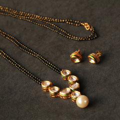 Kundan filled Long Mangalsutra