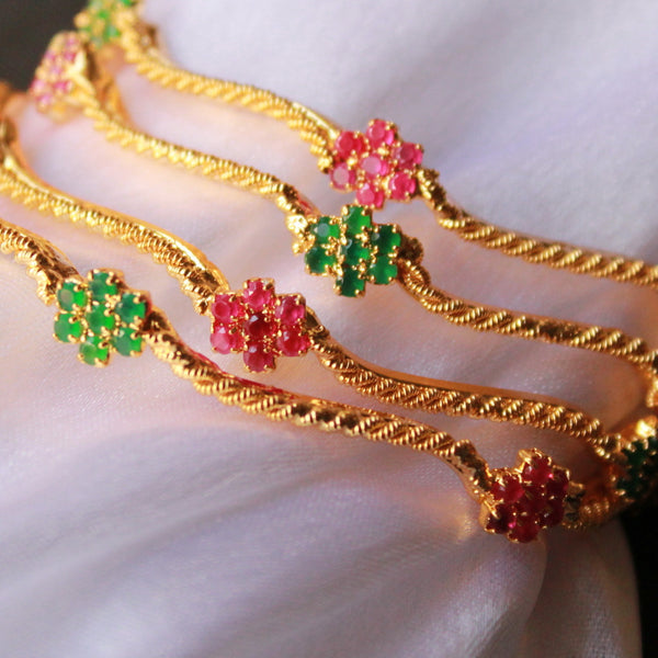 Red Green Bangles
