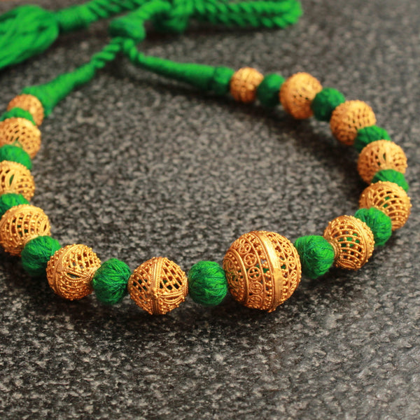 Beads Handcrafted Green Necklace