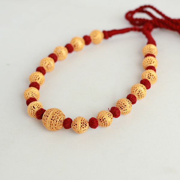beads-handcrafted-maroon-necklace