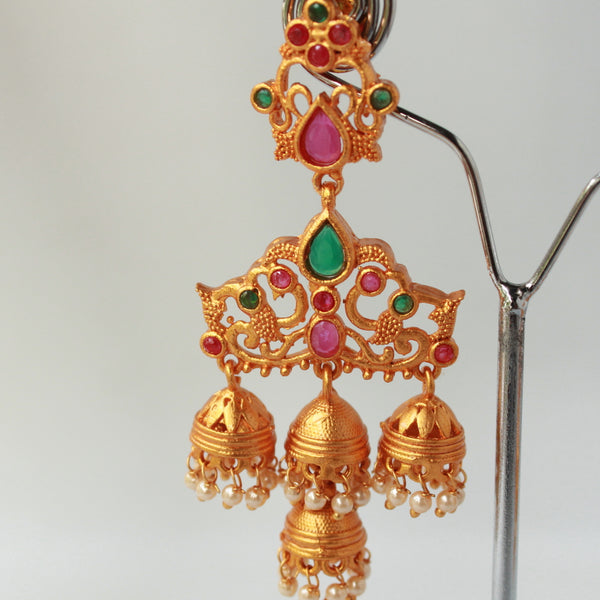 Long Gorgeous Jhumki Earrings