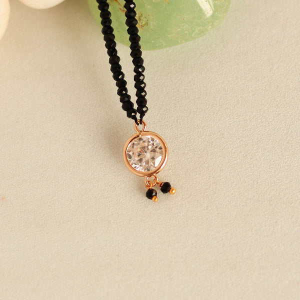 Round Stone Delicate Mangalsutra