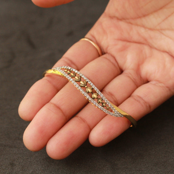 Antique Leaf Kada