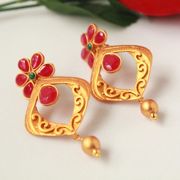 Long Designer Earring