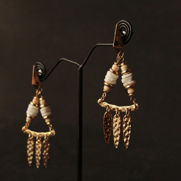 Fancy hanging earring