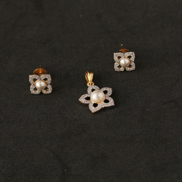 Flower Pendant Set