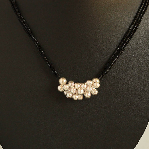 Pure Silver Ghungroo Mangalsutra