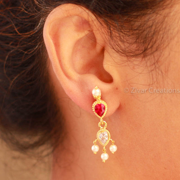 Long Traditional Earring