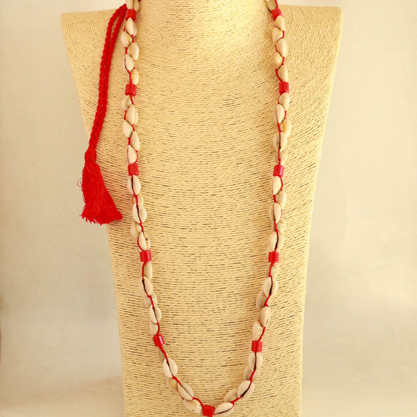 Shell and Coral Designer Necklace