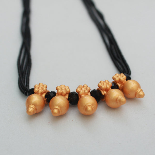 Matte Polish Pieces Handcrafted Mangalsutra