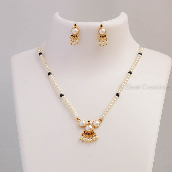 Pearl Mangalsutra, indian jewellery , Mangalsutra