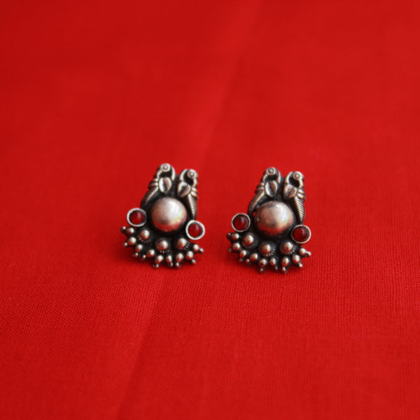 Designer Handcrafted Oxidised Earring