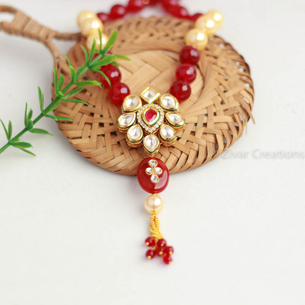 Unique Kundan Designer Pendant Necklace