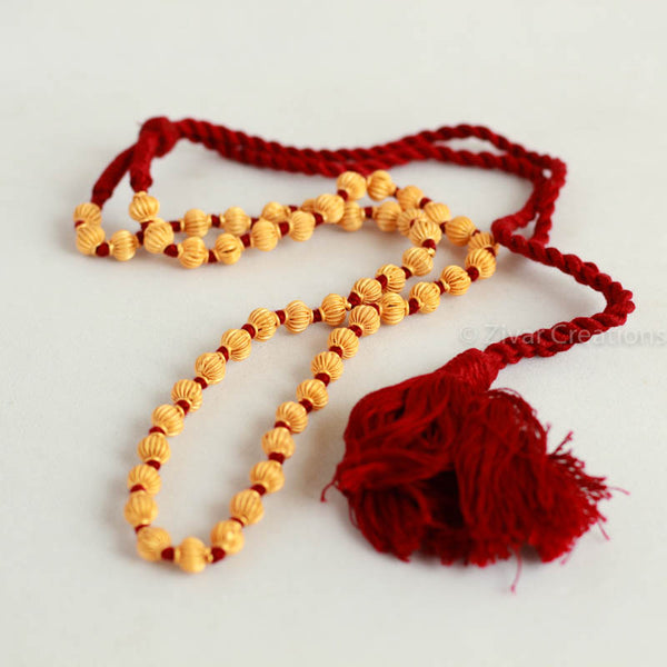 Single Line Jomale Coorg Wedding Jewelry Necklace