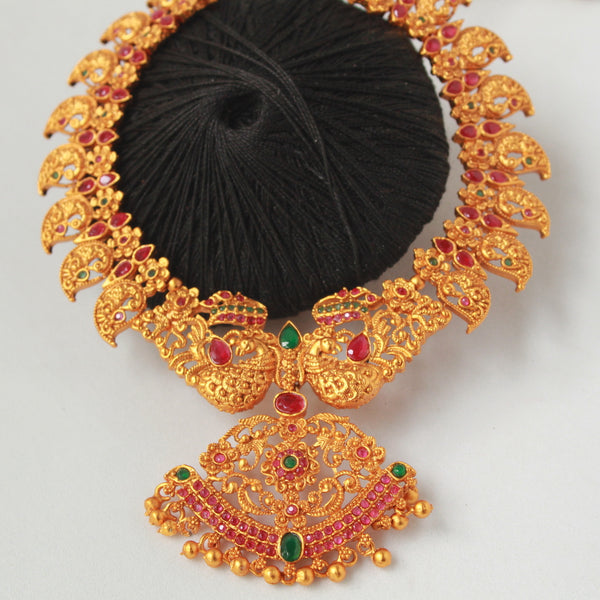 South Indian Temple Necklace