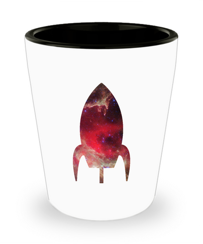 Have a Blast! Space Rocket Drinking Shot Glass