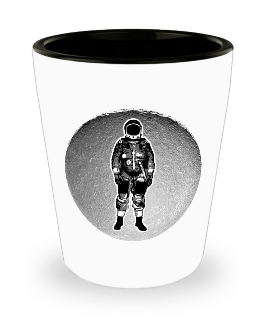 Man on Moon Drinking Party Shot Glass