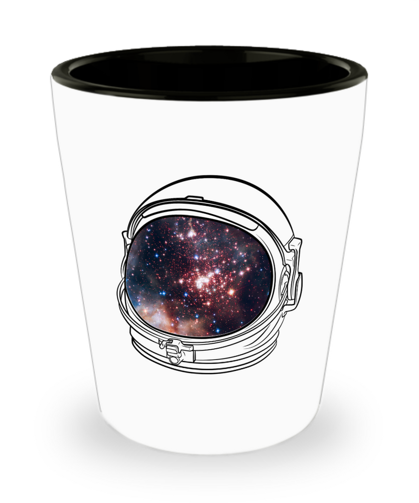 Space Astronaut Helmet Drinking Party Shot Glass