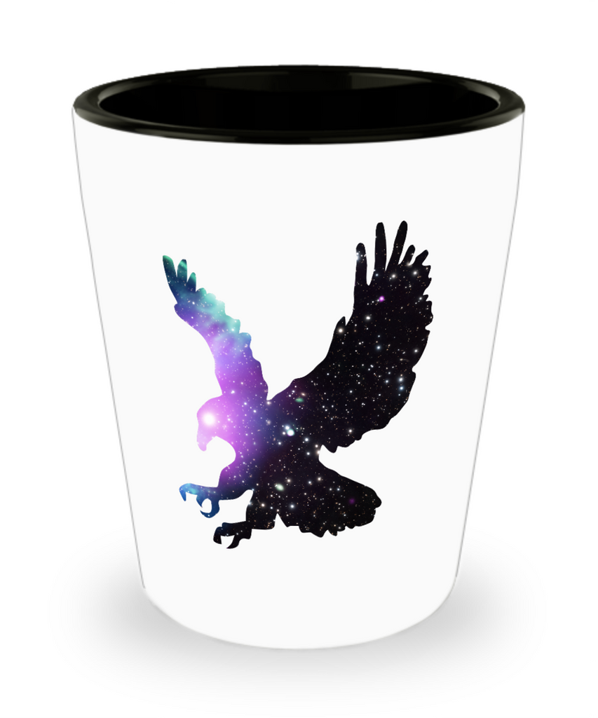 Space Eagle Liberty Drinking Shot Glass