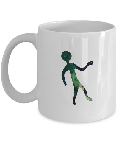 Alien Rock Art Space Mug