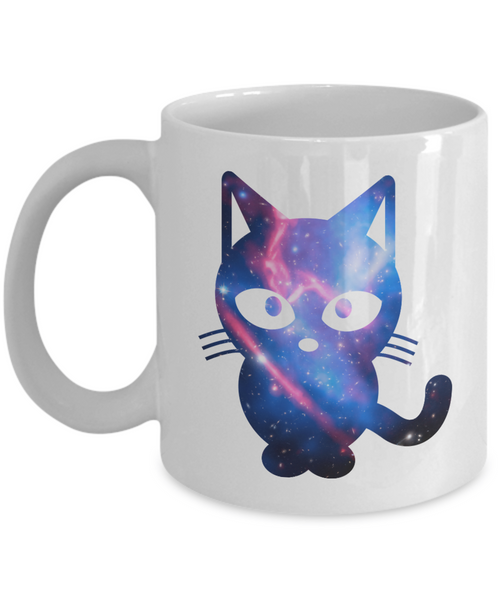 Awesome Space Cat Coffee Mug