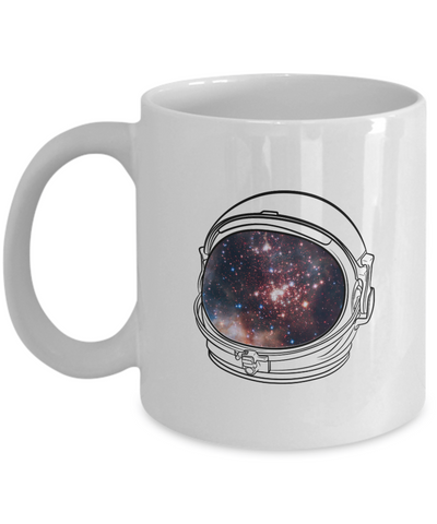 Astronaut Helmet Coffee or Tea Mug