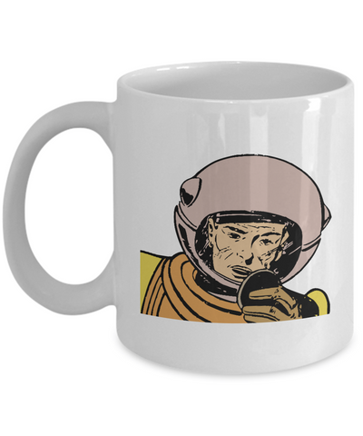 Astronaut Comic Retro Coffee or Tea Mug