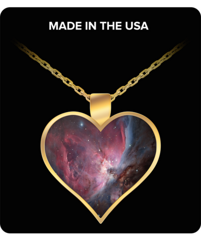 Heart Pendant Necklace - Heart of Orion - Traverse Space