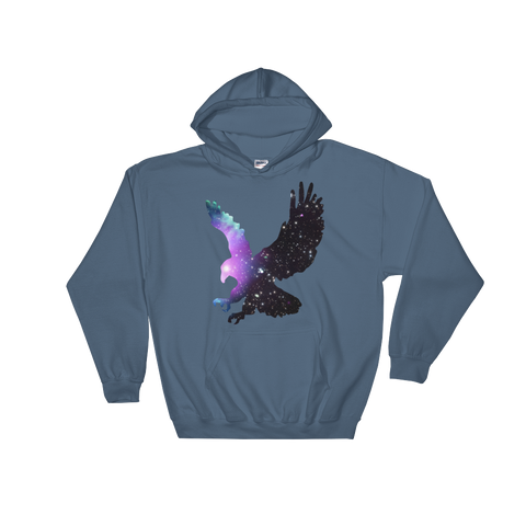 Space Hoodie Men's - Bird of Prey