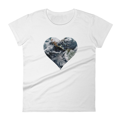 Space T-Shirt Women's - Love the Earth
