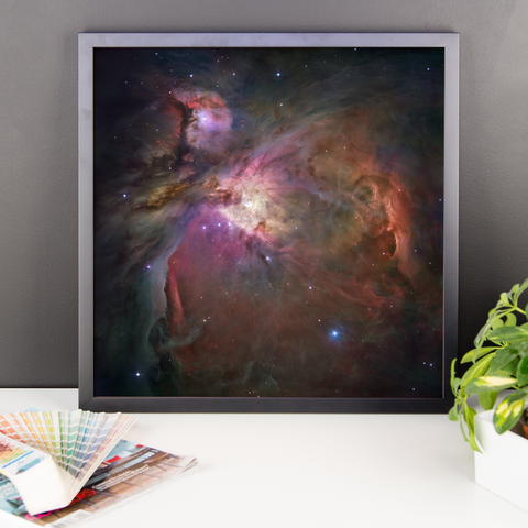 Space Art Framed Poster - The Orion Nebula