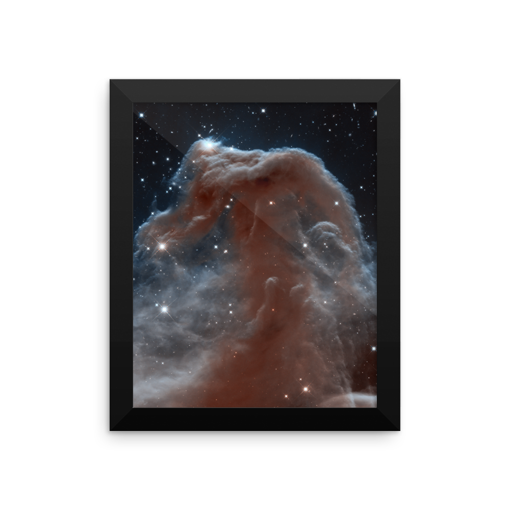 Space Art Framed Poster - Horsehead Nebula - Traverse Space