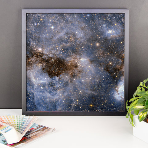 Space Art Framed Poster - Large Magellanic Cloud - Traverse Space