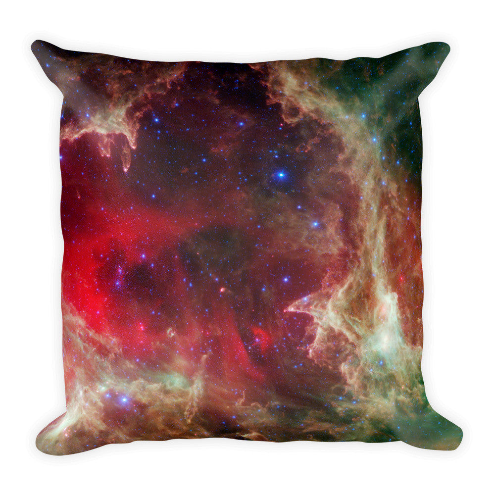 Space Pillow Square - The Heart Nebula - Traverse Space