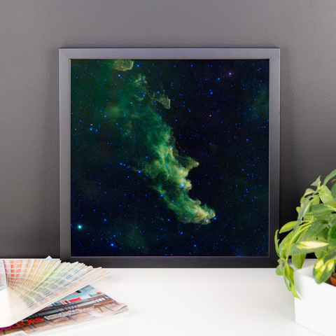 Space Art Framed Poster - The Witch Head Nebula - Traverse Space