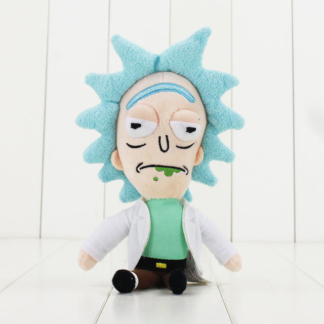 Rick and Morty Plush Stuffed Toys