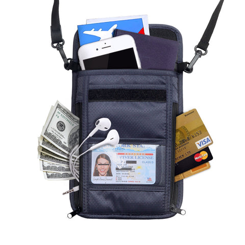 Waterproof Travel Passport Wallet