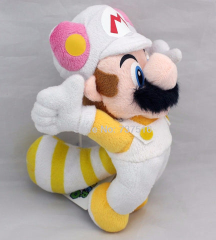 "Super Mario Bros Figure 8"" Flying Rabbit Mario Black Beard Plush"