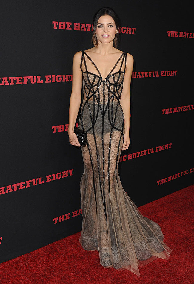 8d2547062aef Jenna Dewan Tatum Wears Totally Sheer Sexy Dress – CHICIDA