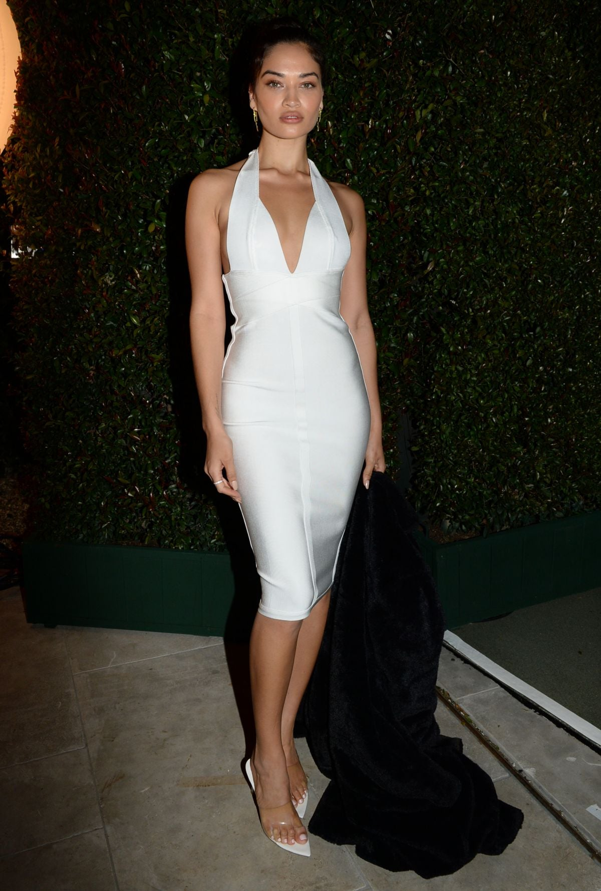 SHANINA SHAIK at WME Pre-oscar Party in Los Angeles