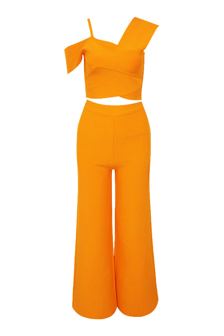 Mango Bandage Flared Trousers - CHICIDA