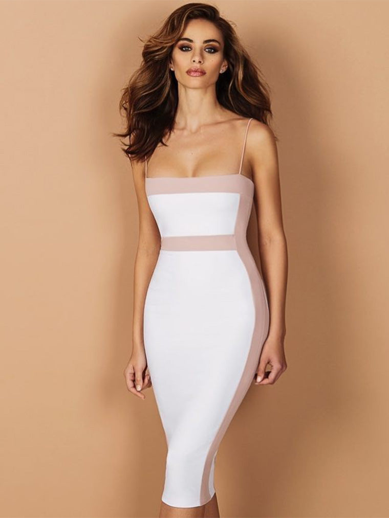 Strappy Sleeveless Bandage Dress - CHICIDA
