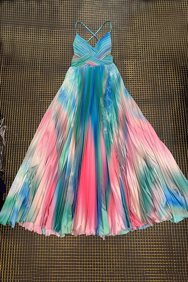 Colorful Mermaid Fairy Dress - CHICIDA