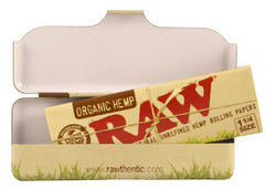 RAW ORGANIC PAPER TIN 1 1/4 - Theheadquarters.com.au