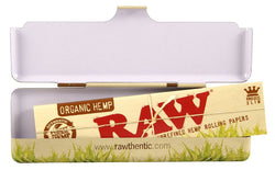 RAW ORGANIC PAPER CASE TIN KS - Theheadquarters.com.au