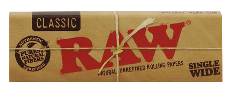CLASSIC RAW PAPERS - SINGLE WIDE - Theheadquarters.com.au